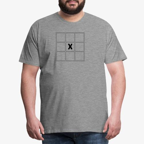 Tic Tac Toe - Männer Premium T-Shirt
