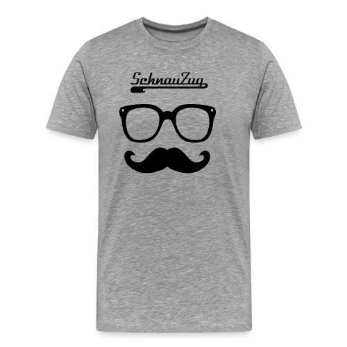 SchnauZug Shirt 1 - Männer Premium T-Shirt