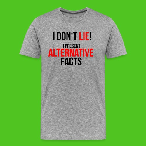 alternative_facts_black2 - Männer Premium T-Shirt