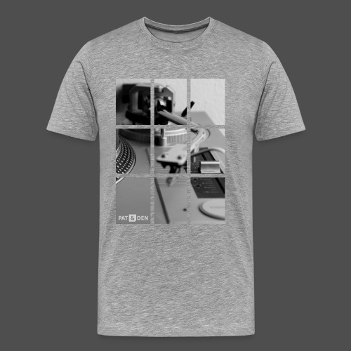 Record player - Men's Premium T-Shirt