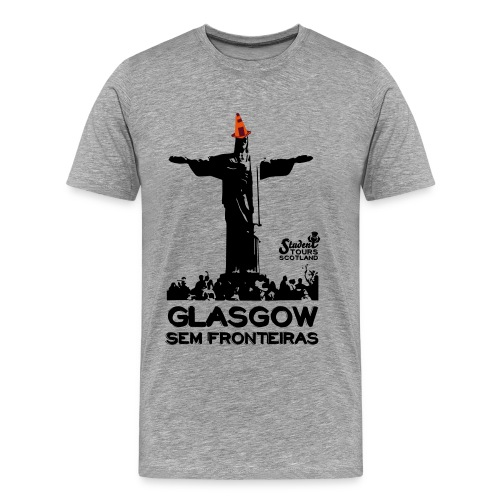 Glasgow Without Borders Brazil Rio de Janeiro - Men's Premium T-Shirt