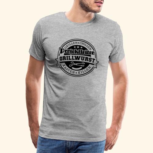 Grill T Shirt Projektleiter Grillwurst - Männer Premium T-Shirt