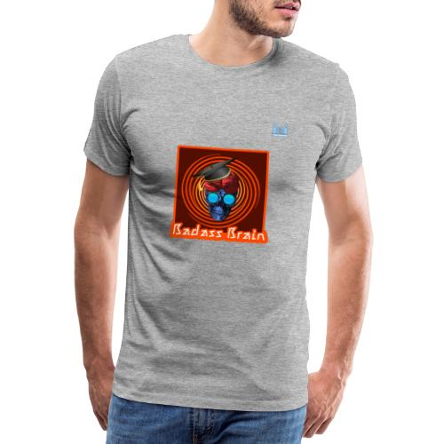 Graduation Day - Badass Brain - Men's Premium T-Shirt
