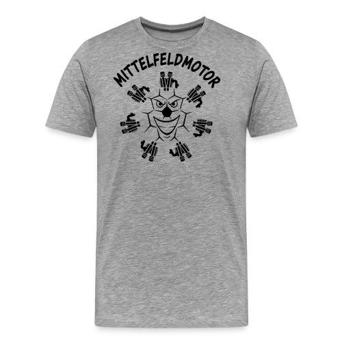 mittelfeldmotor m bk 14 cut - Männer Premium T-Shirt