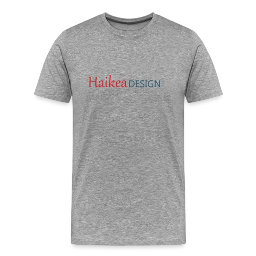 haikea logo - Miesten premium t-paita