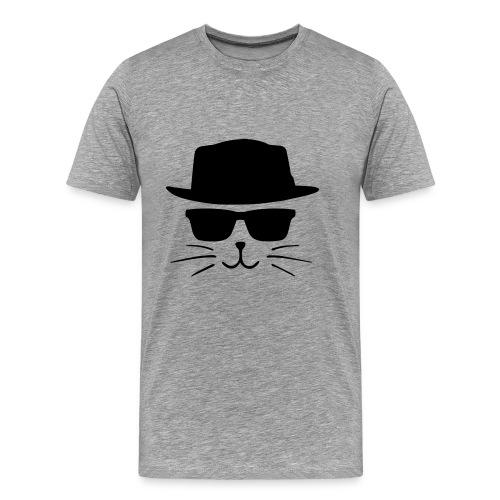 Chat avec style - T-shirt Premium Homme
