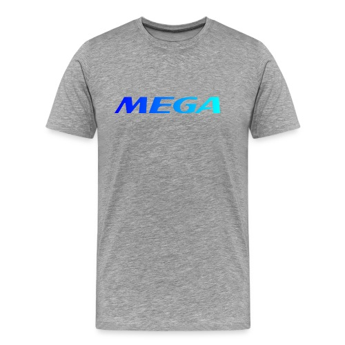 Mega blue - T-shirt Premium Homme