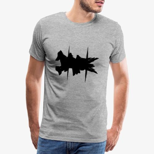 Flying Dog Art - Männer Premium T-Shirt