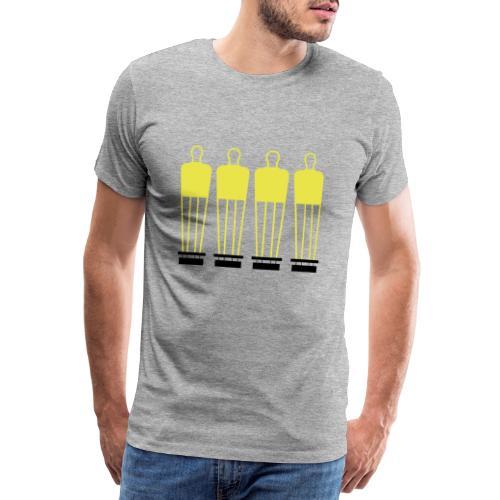 Free Kick Wall - Men's Premium T-Shirt