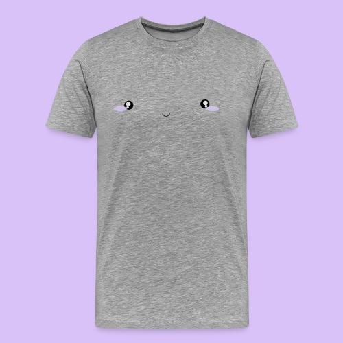 peachy emoji - Männer Premium T-Shirt