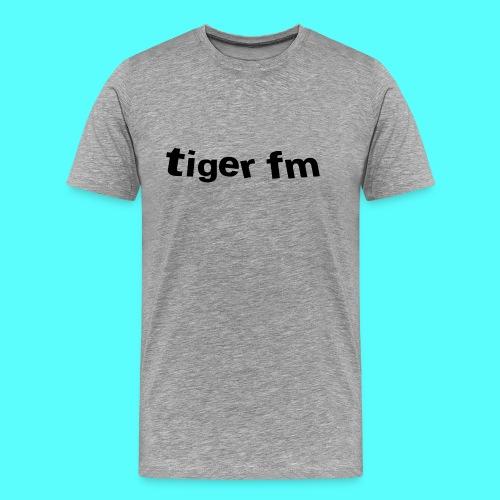 tiger fm logo - Männer Premium T-Shirt