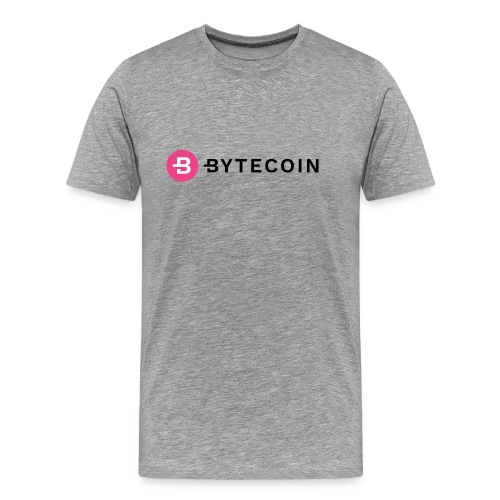 Cryptocurrency - Bytecoin - Männer Premium T-Shirt