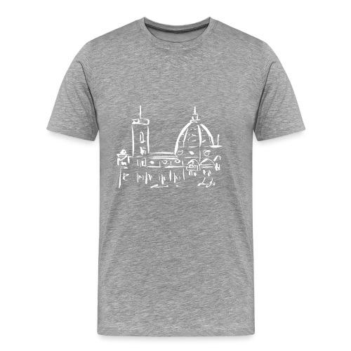 FIRENZE - Maglietta Premium da uomo