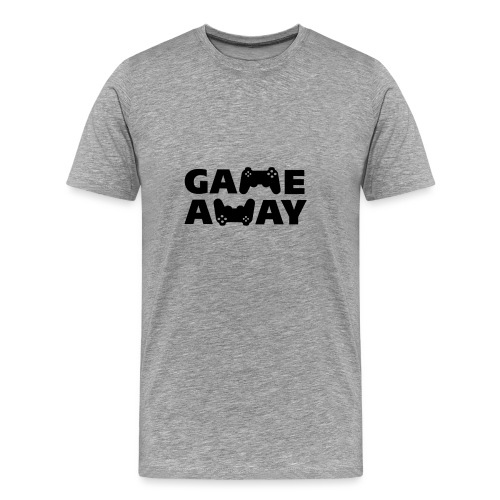game away - Mannen Premium T-shirt