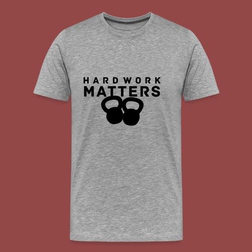 hardworkmatters - Mannen Premium T-shirt