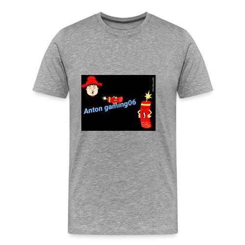 Anton gaming06 - Premium-T-shirt herr