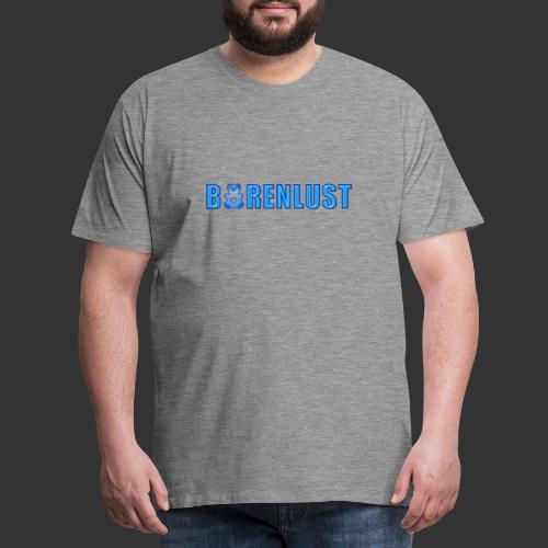 Bärenlust LOGO Motiv - Männer Premium T-Shirt