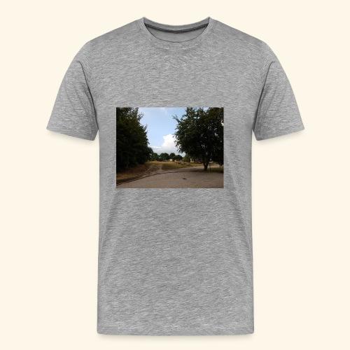 Landschaftsaufnahme - Männer Premium T-Shirt