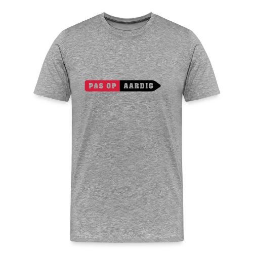 04 on white - Mannen Premium T-shirt
