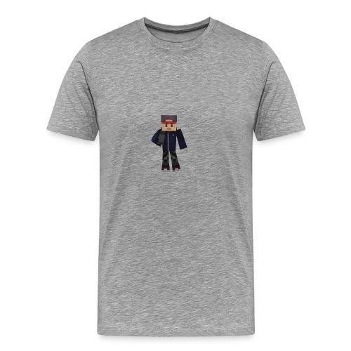 Personnage avec micro - T-shirt Premium Homme