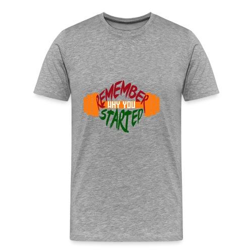fitness draw - T-shirt Premium Homme