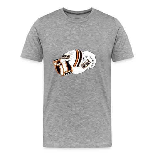 Muay Thai gloves orange - Premium-T-shirt herr
