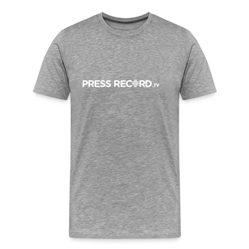 PressRecordTV Hoodie - Men's Premium T-Shirt