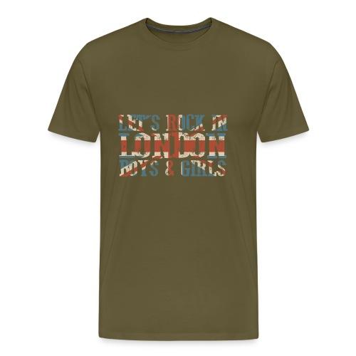 LET'S ROCK IN LONDON - Maglietta Premium da uomo