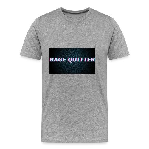 Rage Quitter Design 1 - Men's Premium T-Shirt