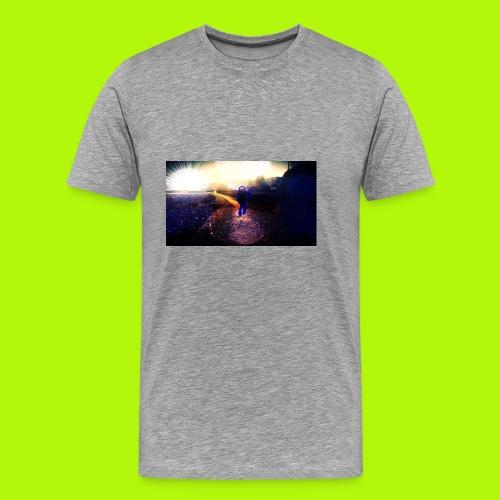 Hoodie Grau | Handyhülle samsung - Männer Premium T-Shirt