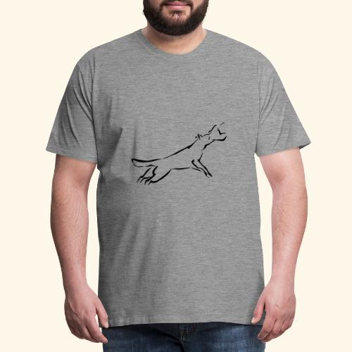 Suojelu - Miesten premium t-paita