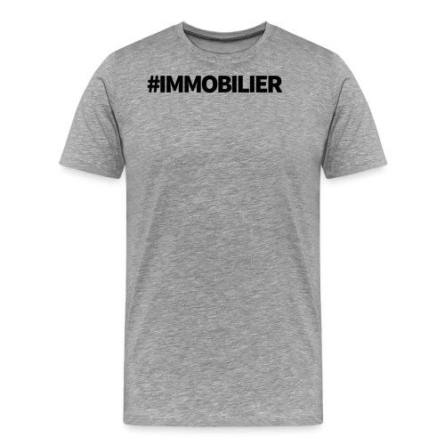 IMMOBILIER - T-shirt Premium Homme