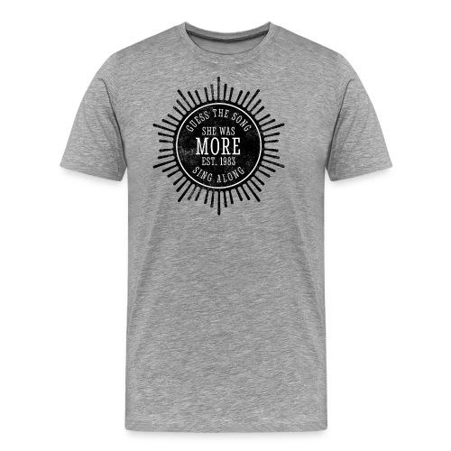 She Was More - Männer Premium T-Shirt