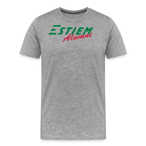 ESTIEM Alumni - Mannen Premium T-shirt