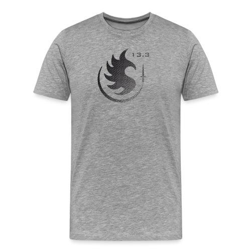 Patch IR 13 3 TRAME BLACK INVERT 2 - T-shirt Premium Homme