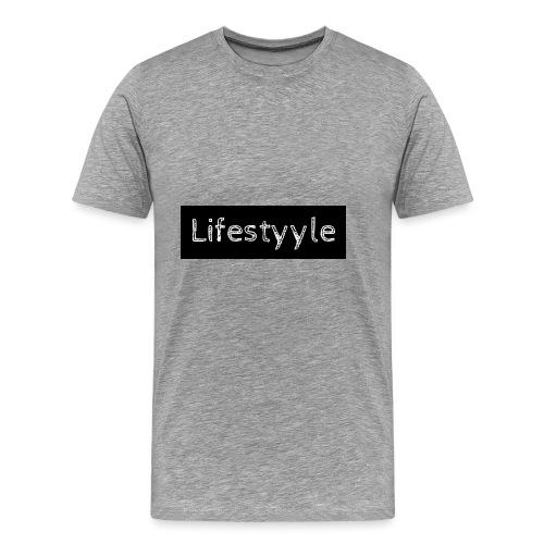 Lifestyyle schwarz - Männer Premium T-Shirt