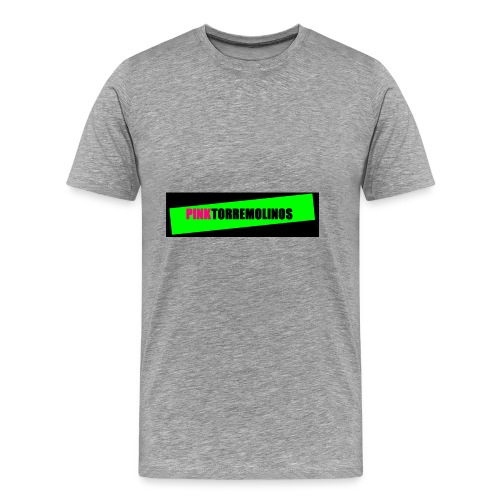 pinklogo - Mannen Premium T-shirt