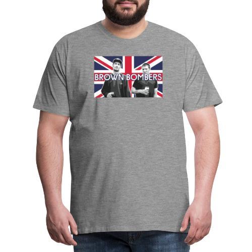Sleaford Bombers - Premium-T-shirt herr