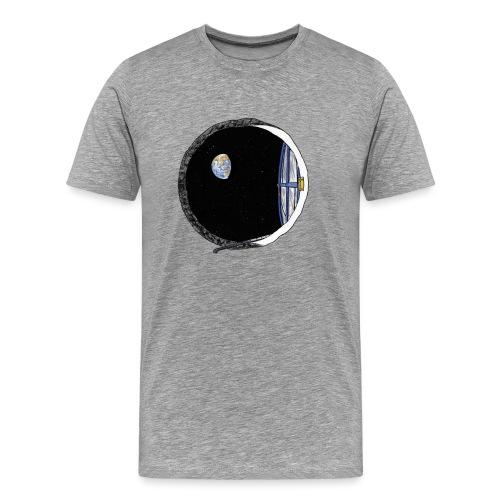 moon underground - Men's Premium T-Shirt