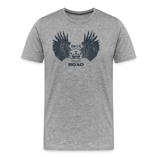 WINGS King of the road dark - Mannen Premium T-shirt