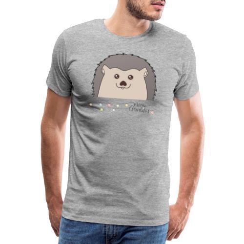 Hed wünscht Merry Christmas - Männer Premium T-Shirt