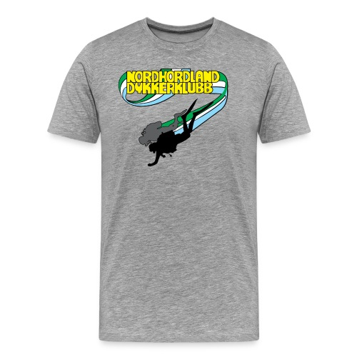 Profilartikler for NHDK på lyse farger - Premium T-skjorte for menn