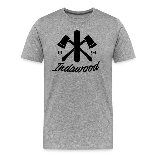 Indawood halux hans - Mannen Premium T-shirt