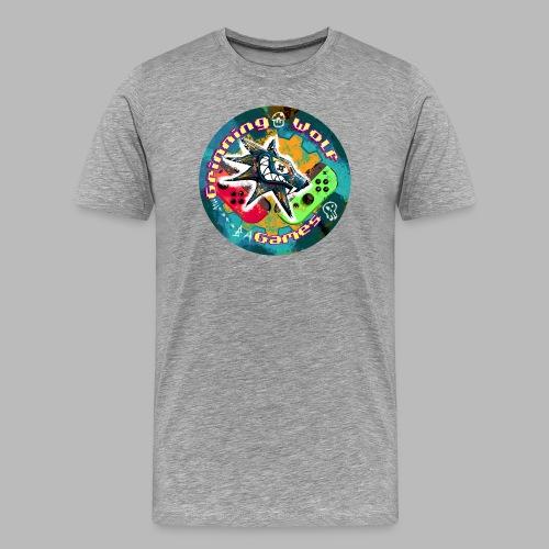 Grinning Wolf Games 21 Round logo - Men's Premium T-Shirt