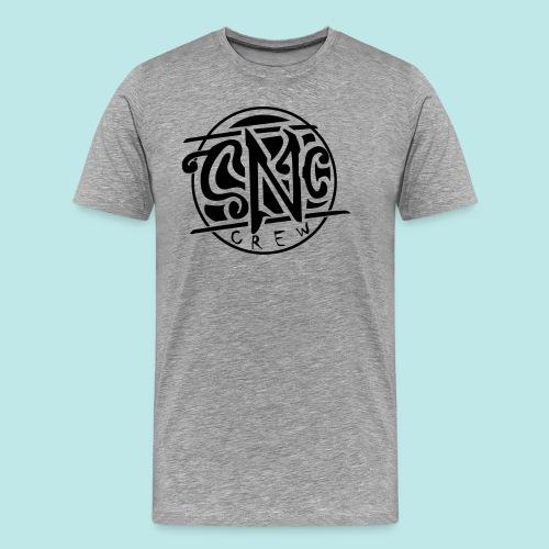 snc_logo_vektor_black2 - Männer Premium T-Shirt