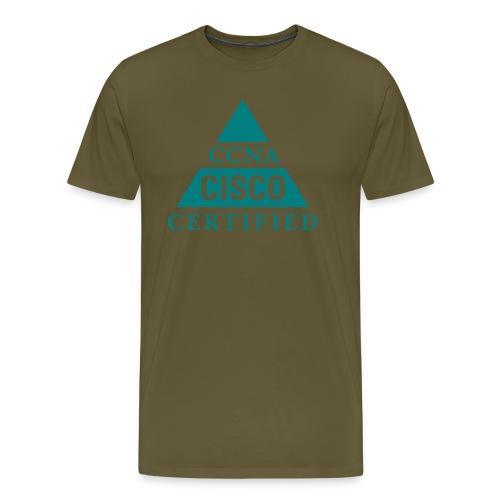 ccna male - Koszulka męska Premium