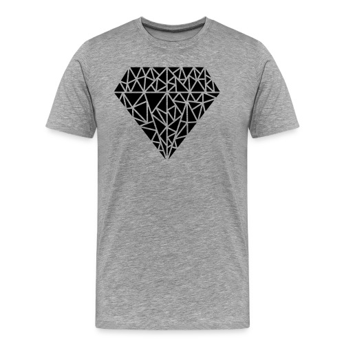 Triangle Love - Männer Premium T-Shirt