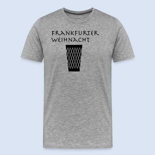 Frankfurter Weihnacht - Männer Premium T-Shirt