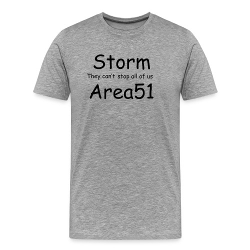 Storm Area 51 - Men's Premium T-Shirt