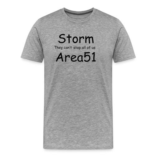 Storm Area 51 - Men's Premium T-Shirt